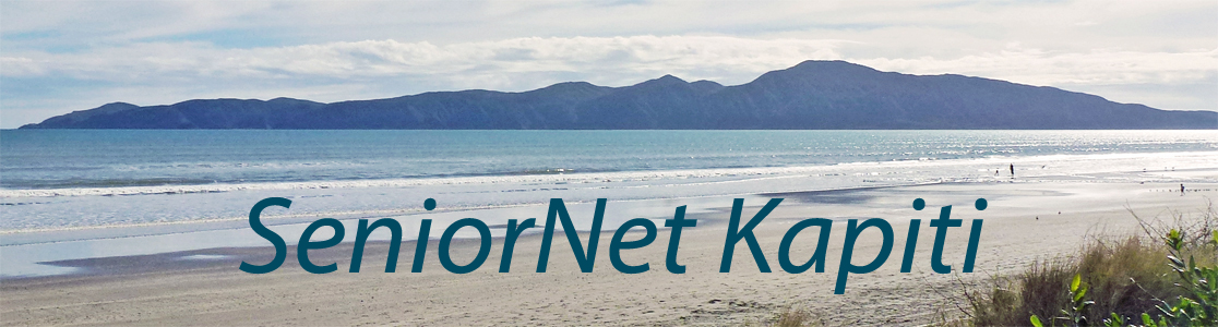 SeniorNet Kapiti Inc- Find Out About Us
